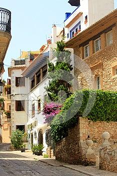 Spanish Village Stock Photo - Image: 25681170