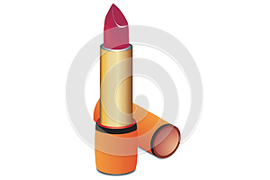 Vector Lipstick Royalty Free Stock Image - Image: 25686386