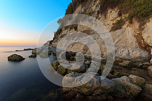 Sea In The Morning Royalty Free Stock Image - Image: 25690726