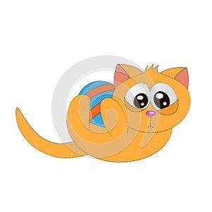 Gato Y Bola Imágenes de archivo libres de regalías - Imagen: 25691339