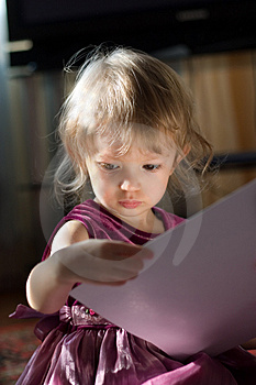 Beautiful Small Girl Stock Photography - Image: 2570782