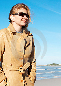 Blonde Woman In Sunglasses Royalty Free Stock Photos - Image: 2571048
