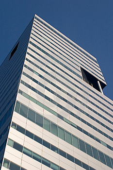 Tall Office Building Stock Image - Image: 2571051