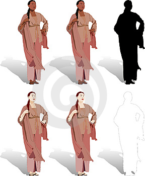 Women Illustrations Royalty Free Stock Images - Image: 2577019