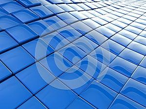 Blue Wavy Background Stock Images - Image: 25707054