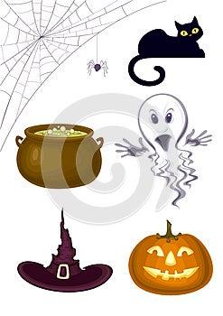 Halloween Icons Stock Photography - Image: 25708552