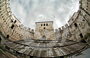 Wings Of The Fortress Stock Photography - Image: 25722342