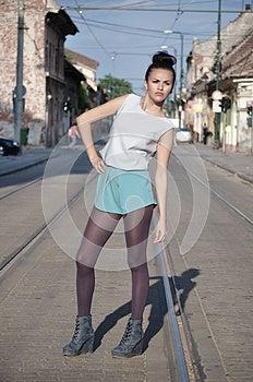 Fashion Girl Stock Photo - Image: 25724100