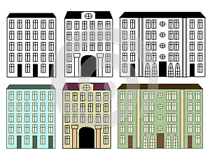 CIty Buildings Royalty Free Stock Photography - Image: 25725557