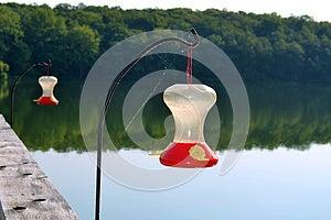 Hummingbird Feeders Stock Images - Image: 25733984
