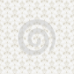 Persian Seamless Ornament Royalty Free Stock Image - Image: 25739996