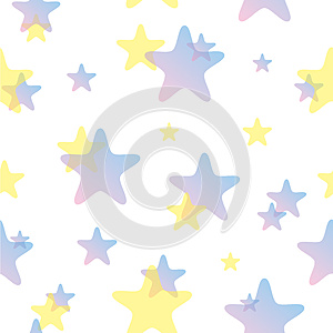 Seamless Stars Pattern Stock Photos - Image: 25745593