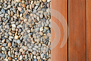 Pebble And Wood Stock Photography - Image: 25749772