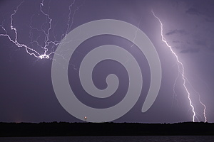 Lightning Burst Stock Image - Image: 25754081