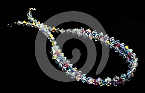 Crystal Necklace Stock Photo - Image: 25758350