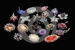 Crystal Pendants Royalty Free Stock Photography - Image: 25758377