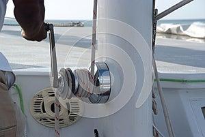 Catamaran Close Up Royalty Free Stock Photos - Image: 25768258