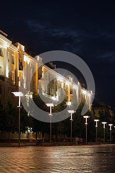 City Balashikha Night Stock Photos - Image: 25769053