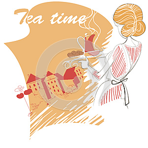 Tea Time Royalty Free Stock Images - Image: 25769529