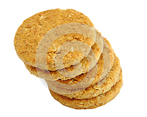 Stack Of Cookies Royalty Free Stock Photo - Image: 25770135