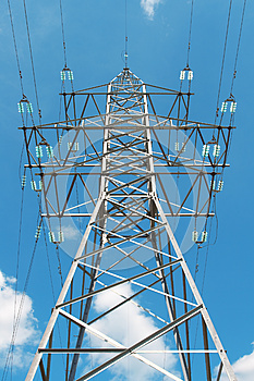 Reliance Power Lines Royalty Free Stock Photography - Image: 25773997