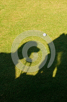 Silhouette Of A Golfer Royalty Free Stock Image - Image: 25779936