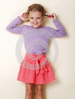 Little Girl Royalty Free Stock Photography - Image: 25780637