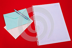 Envelope Of Correspondence Stock Image - Image: 25795611