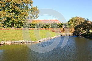 Moat Around A Garden Stock Photography - Image: 25799892
