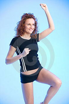 Fit For Fun Royalty Free Stock Image - Image: 2584646