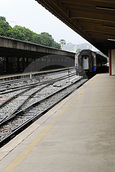 Railway Station Stock Image - Image: 2586181