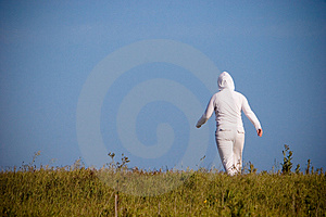 Woman Walking Away Stock Photography - Image: 2588032