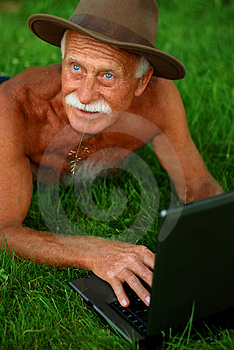 Handsome Senior Man Stock Image - Image: 2589191