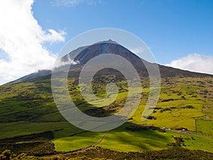 Pico Mountain Stock Image - Image: 25805011