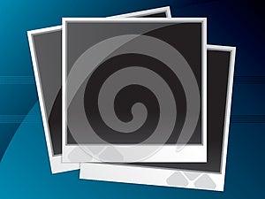 Instant Photo Frames Stock Image - Image: 25807111