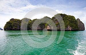 Sea Island. Phang Nga. Thailand. Royalty Free Stock Photography - Image: 25809507