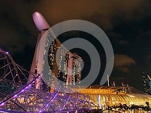 The Marina Bay Waterfront Royalty Free Stock Photos - Image: 25825288