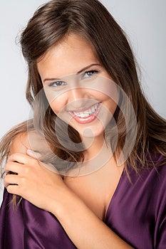 Sweet, Smiling Teen Royalty Free Stock Photo - Image: 25835785