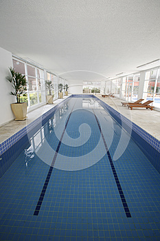 Indoor Pool Royalty Free Stock Image - Image: 25836886