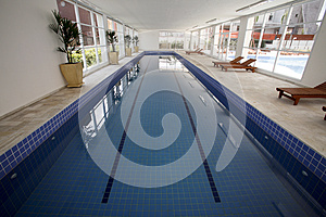 Indoor Pool Royalty Free Stock Photos - Image: 25836908