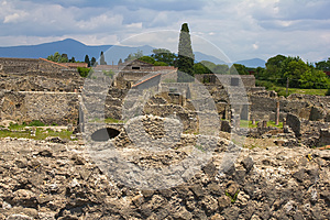 Pompeii, Ruins Stock Photography - Image: 25839262