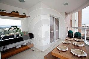 Gourmet Balcony Royalty Free Stock Photo - Image: 25840425