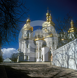 Kiev-Pechersk Lavra. Stock Photography - Image: 25845482