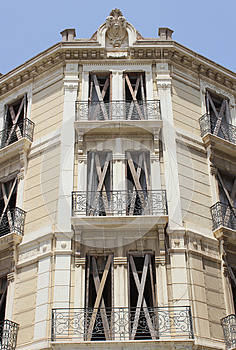 Spanish Building Detail Stock Photography - Image: 25852842