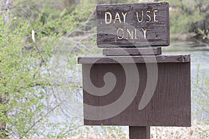 Day Use Only Sign Royalty Free Stock Photos - Image: 25854368