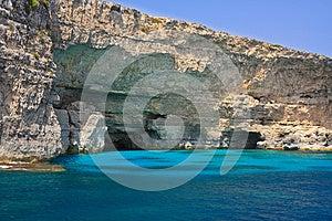 Sea Lagoon And Rocks Royalty Free Stock Images - Image: 25855009