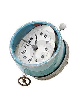 Trashed Clock Stock Photo - Image: 25856000