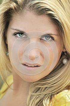 Portrait Of A Blonde Royalty Free Stock Photography - Image: 25856347
