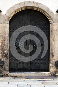 Old Iron Doors Royalty Free Stock Images - Image: 25861949
