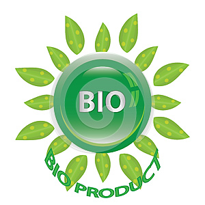 Perfect Badge Made For Your Bio Products Royalty Free Stock Image - Image: 25864256